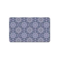 Oriental Pattern Magnet (name Card)