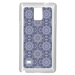 Oriental Pattern Samsung Galaxy Note 4 Case (white)