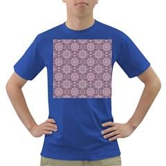 Oriental Pattern Dark T Shirt