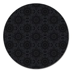 Oriental Pattern Magnet 5  (round)