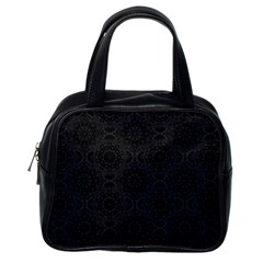 Oriental Pattern Classic Handbags (one Side)