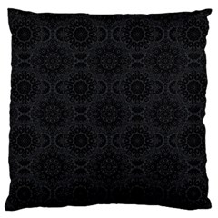 Oriental Pattern Large Flano Cushion Case (one Side)