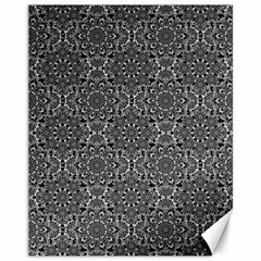 Oriental Pattern Canvas 11  X 14