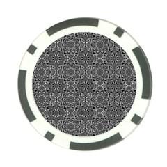 Oriental Pattern Poker Chip Card Guard (10 Pack)