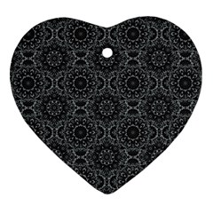 Oriental Pattern Ornament (heart)