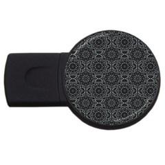 Oriental Pattern Usb Flash Drive Round (4 Gb)
