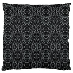 Oriental Pattern Large Flano Cushion Case (two Sides)