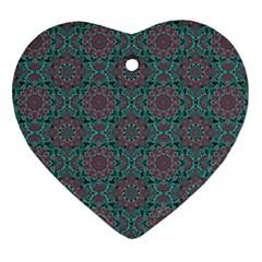 Oriental Pattern Ornament (heart)