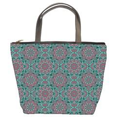 Oriental Pattern Bucket Bags