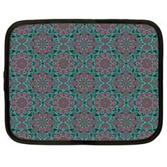 Oriental Pattern Netbook Case (xl)