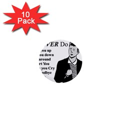 Rick Astley 1  Mini Buttons (10 Pack)