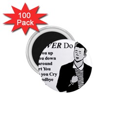 Rick Astley 1 75  Magnets (100 Pack)