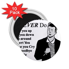 Rick Astley 2 25  Magnets (10 Pack)