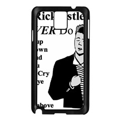 Rick Astley Samsung Galaxy Note 3 N9005 Case (black)