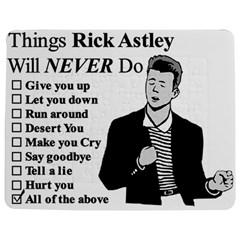 Rick Astley Jigsaw Puzzle Photo Stand (rectangular)