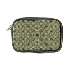 Stylized Modern Floral Design Coin Purse