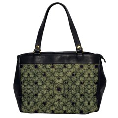 Stylized Modern Floral Design Office Handbags