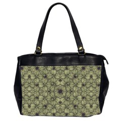 Stylized Modern Floral Design Office Handbags (2 Sides)