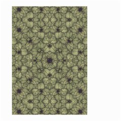 Stylized Modern Floral Design Small Garden Flag (two Sides)