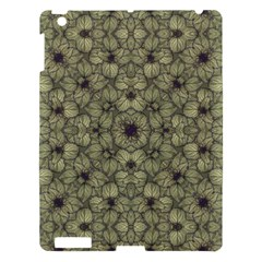 Stylized Modern Floral Design Apple Ipad 3/4 Hardshell Case