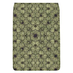 Stylized Modern Floral Design Flap Covers (s)