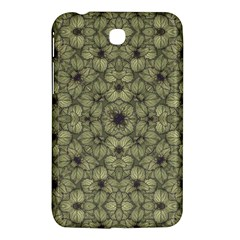 Stylized Modern Floral Design Samsung Galaxy Tab 3 (7 ) P3200 Hardshell Case