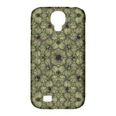 Stylized Modern Floral Design Samsung Galaxy S4 Classic Hardshell Case (pc+silicone)