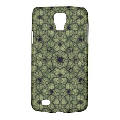 Stylized Modern Floral Design Galaxy S4 Active