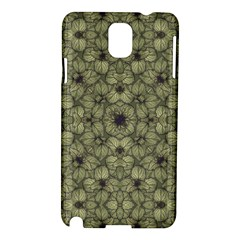 Stylized Modern Floral Design Samsung Galaxy Note 3 N9005 Hardshell Case