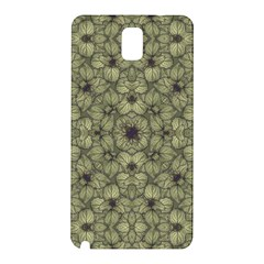 Stylized Modern Floral Design Samsung Galaxy Note 3 N9005 Hardshell Back Case