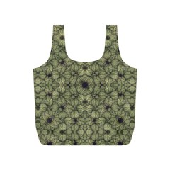 Stylized Modern Floral Design Full Print Recycle Bags (s)