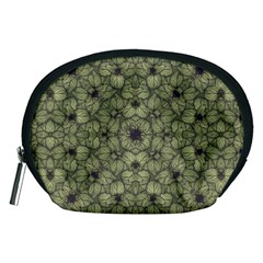 Stylized Modern Floral Design Accessory Pouches (medium)