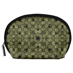 Stylized Modern Floral Design Accessory Pouches (large)