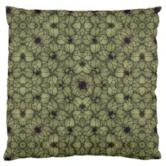 Stylized Modern Floral Design Standard Flano Cushion Case (two Sides)