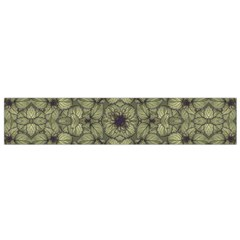 Stylized Modern Floral Design Flano Scarf (small)