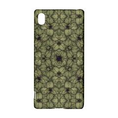 Stylized Modern Floral Design Sony Xperia Z3+