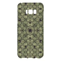 Stylized Modern Floral Design Samsung Galaxy S8 Plus Hardshell Case