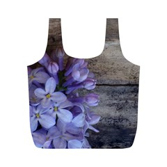 Lilac Full Print Recycle Bags (m)