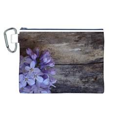 Lilac Canvas Cosmetic Bag (l)