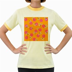 Playful Mood Ii Women s Fitted Ringer T Shirts