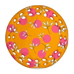 Playful Mood Ii Ornament (round Filigree)