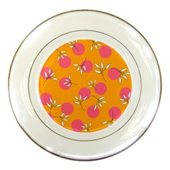 Playful Mood Ii Porcelain Plates