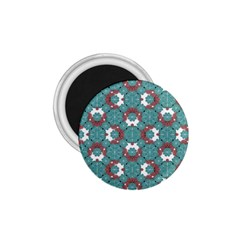 Colorful Geometric Graphic Floral Pattern 1 75  Magnets