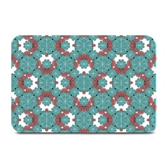 Colorful Geometric Graphic Floral Pattern Plate Mats