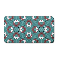 Colorful Geometric Graphic Floral Pattern Medium Bar Mats