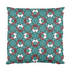 Colorful Geometric Graphic Floral Pattern Standard Cushion Case (one Side)