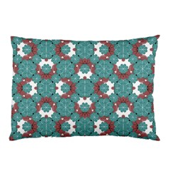 Colorful Geometric Graphic Floral Pattern Pillow Case