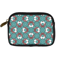 Colorful Geometric Graphic Floral Pattern Digital Camera Cases