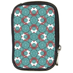 Colorful Geometric Graphic Floral Pattern Compact Camera Cases