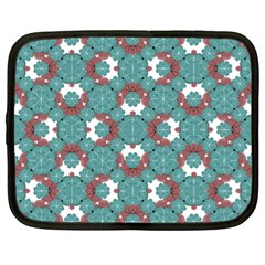 Colorful Geometric Graphic Floral Pattern Netbook Case (xl)